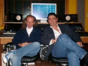 Roberto Morales y Piero Adragna